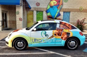 UltraInsight Vehicle Wrap