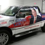Gamez-Law_Truck-Wrap-SanAntonio_Lincoln-Mark-LT